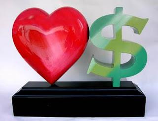 Antara cinta dan uang