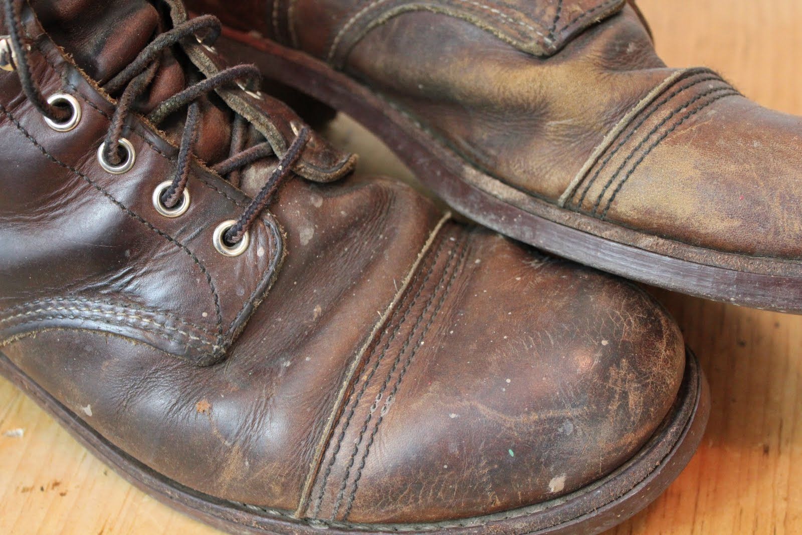 vintage workwear: Red Wing Work Boots