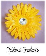 """4"""" Yellow Gerbera"""