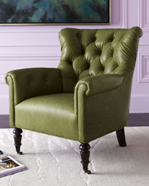 Leather Chairs by Thomasville Furniture
