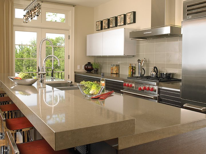 Gold notes october 2010 for Engineered quartz countertops
