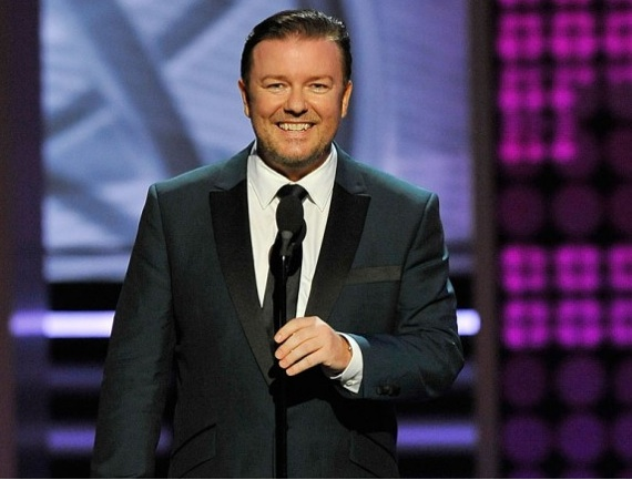 known when they asked him to host the 2011 Golden Globes! Ricky Gervais?