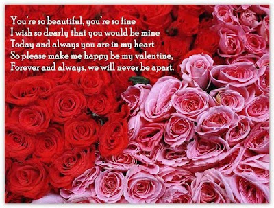 images of roses with quotes. Sample of Valentines/Quotes Design Card (Red Roses and Pink Roses Images)