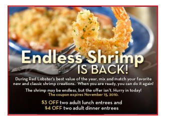 red lobster target market It is clear that red lobster should target these individuals because per customer experientials spend around $52 more than the current indulgent targets per year.