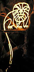 Lighted Lion