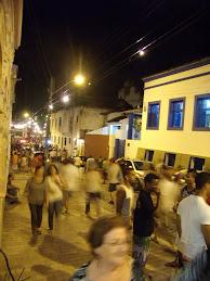 Muita gente em Olinda, pra ver carnaval já em dezembro