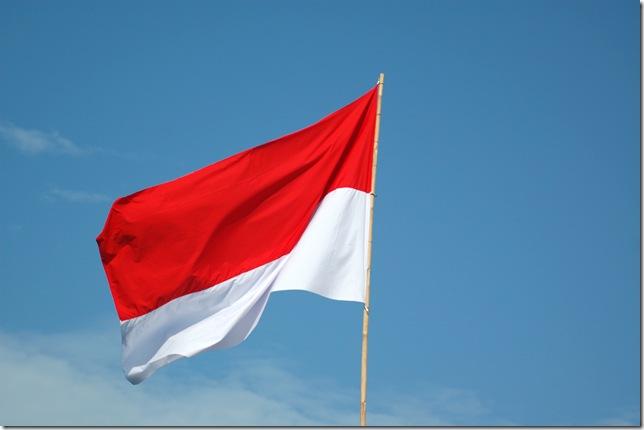 indonesian flag. INDONESIA!