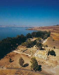 Textos Biblicos de Cafarnaum en el Viaje los jovenes del Camino Neocatecumenal a Israel