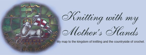 Knitting with my Mother's Hands
