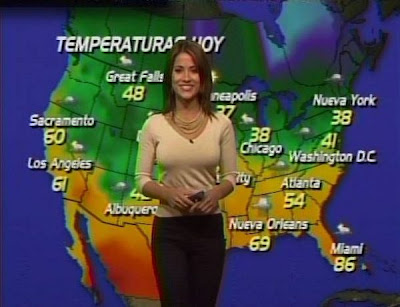 channel 5 weather girl