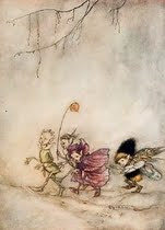 Always inspired by the amazing Arthur Rackham
