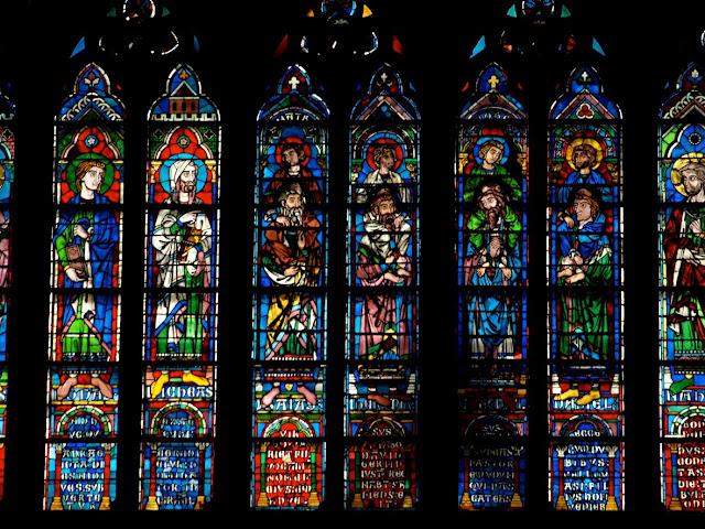 Vidrieras de Notre Dame de París
