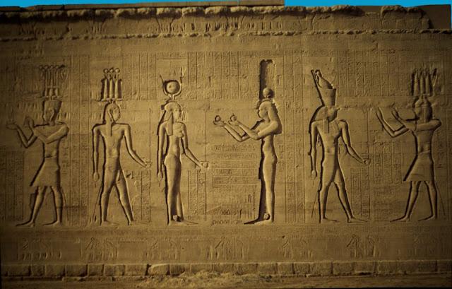 Pilono del Templo de Edfu
