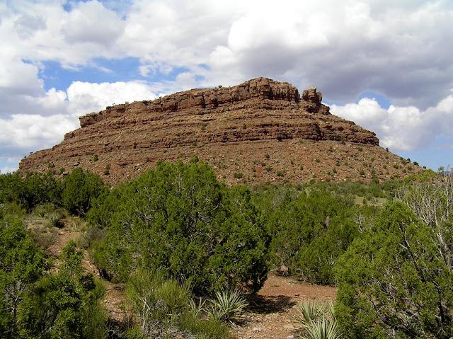 Horseshoe Mesa en primer plano