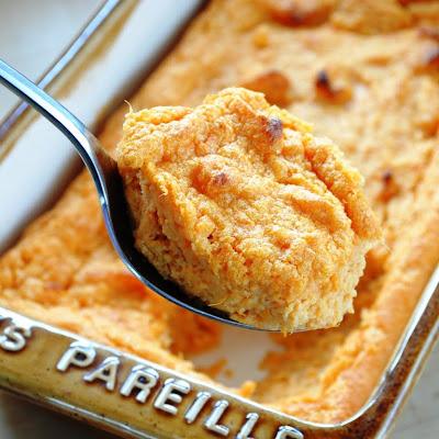 JULES FOOD...: SWEET POTATO SPOON BREAD