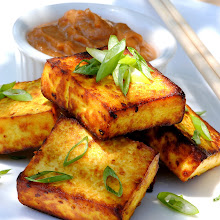 TOFU SATAY with PEANUT SAUCE