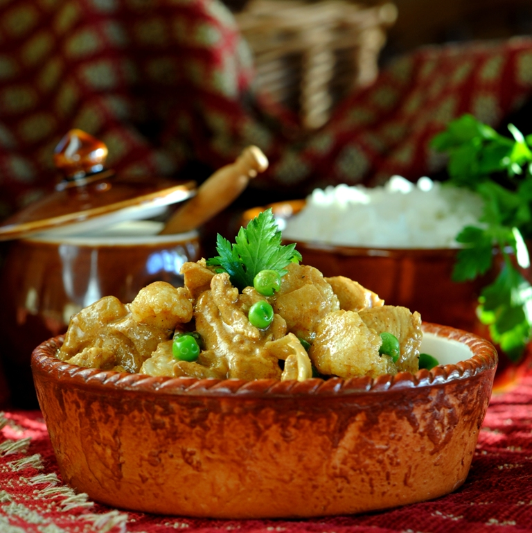 JULES FOOD...: Chicken Coconut Curry...Indian Style