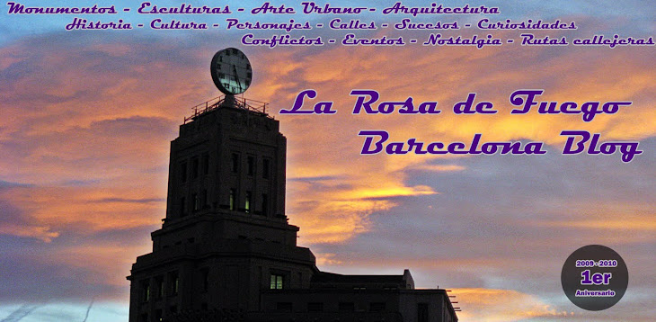 BARCELONA, LA ROSA DE FUEGO