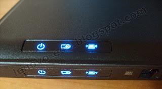 Индикаторы на передней панели Lenovo E43