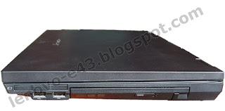 Lenovo E43 - кнопка выброса лотка DVD-привода