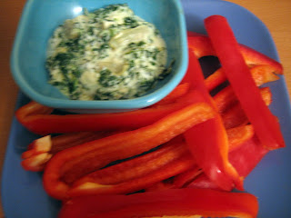 Healthy Meal Vegetarian Chili And Tgi Friday S Spinach Artichoke Dip 50by25