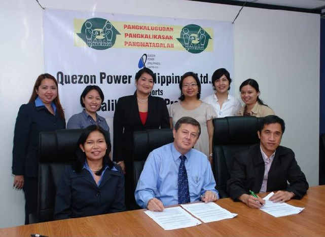 Quezon Power MOA Signing