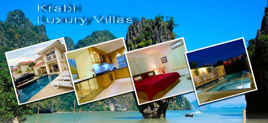 Krabi Luxury Villas, Krabi Beach Houses, Krabi Holiday Home Rentals