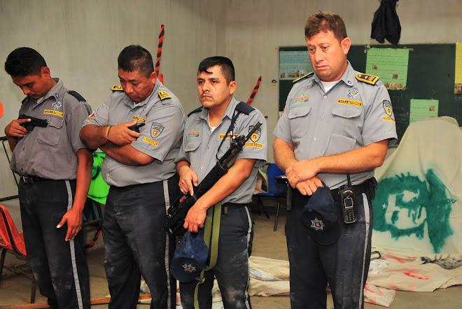 POLICIAS DETENIDOS POR LA MOCRI