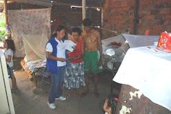 ENTREGA DE CARPETA A LA FAMILIA MANCIPE