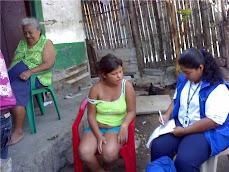 Orientacion  Psicologica solicitada por la CGS Rosalba Galeano a la familia Vicaña .