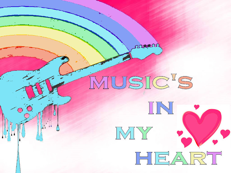music's in my heart.
