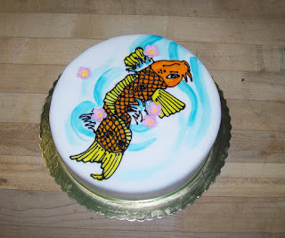 Koi Cake Images