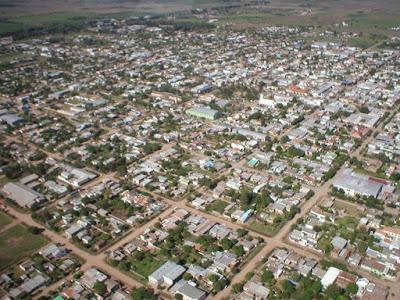 Le village de Charata dans la province du Chaco