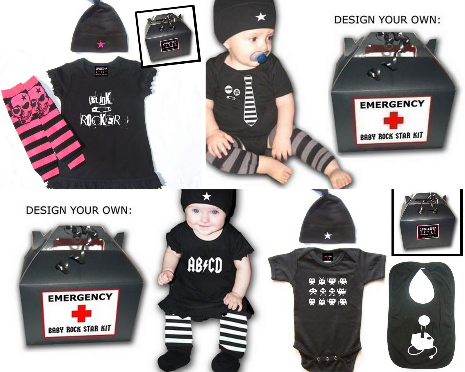 Punk Rock Baby Clothes  sc 1 st  How to Find Your Beautiful Clothes & Punk Rock Baby Clothes | Beauty Clothes