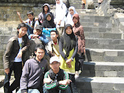 Ophy n friend in the borobudur