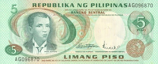 thesis on philppine peso In the philippines, for instance, the exchange rate is conventionally expressed as  the value of one us dollar in peso equivalent for example, us$1 = p5000.