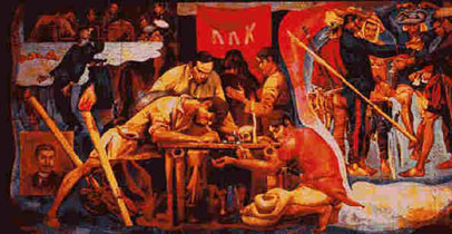 Today in history january 2012 for Bonifacio mural painting