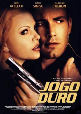 Filme Poster Jogo Duro DVDRip XviD & RMVB Dublado
