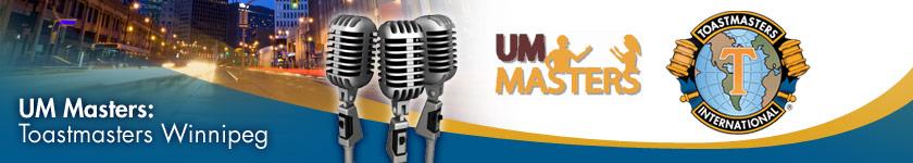 Toastmasters Winnipeg: UM Masters