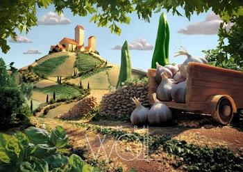 Tuscan Landscape - Carl Warner