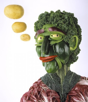 Veg head - Carl Warner