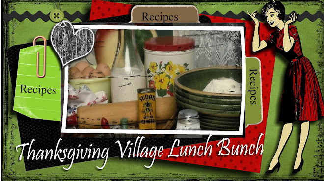Thanksgiving Village Lunch Bunch