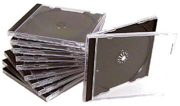 CD No Box Acrilico Com Sua Capa R$ 2.50 unid.