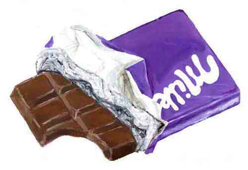 Co cie dans la vie j 39 aime le chocolat - Dessin tablette chocolat ...