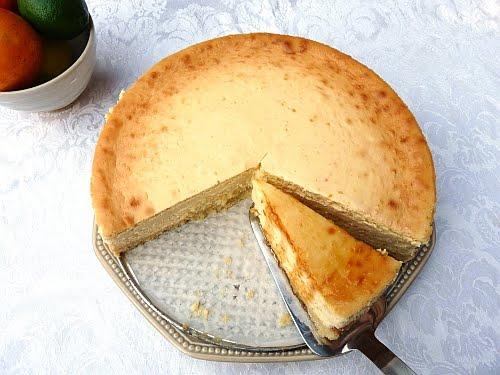 Radishes and Rhubarb: Orange Cheesecake with an amazing Caramel Sauce ...