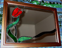 Red Tulip Mirror