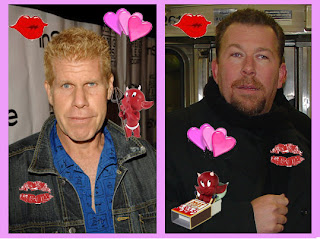 Ron Perlman is Dave's long lost brother