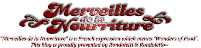 """~""""Merveilles De La Nourriture""""~"""
