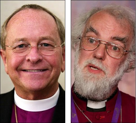 At least according to the gay Gene. The Archbishop of Canterbury has been ...
