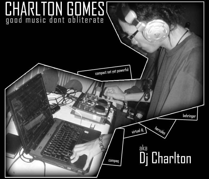 Charlton Gomes - Good Music Dont Obliterate